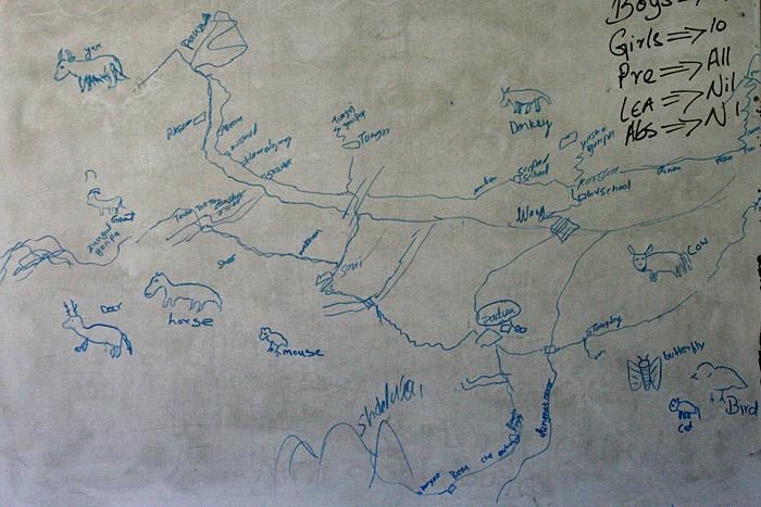 Landkarte Zanskar
