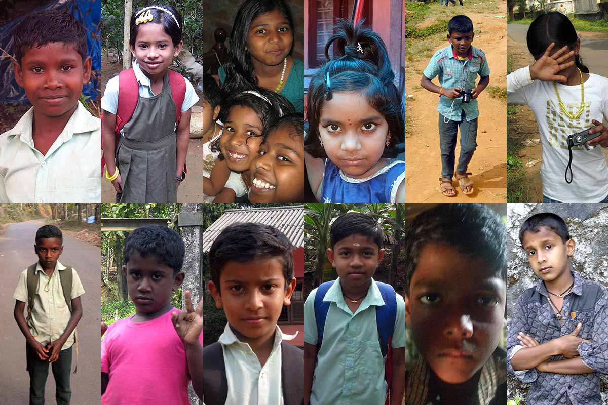 above: Abijeeth (12), Akhinna (9), Alekya-Alona-Avadi (10, 8, 6), Anusmaya (7), Arjun (9), Avanthika (9) below: Harshey (10), Jithukrishna (8), Nabeel (9), Nived (8), Sakhin (9), Sayanth (8)