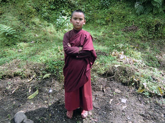 Boymonk in Dubdi/Sikkim