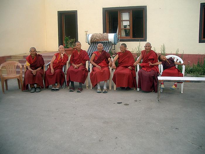 Nuns in Nyerma