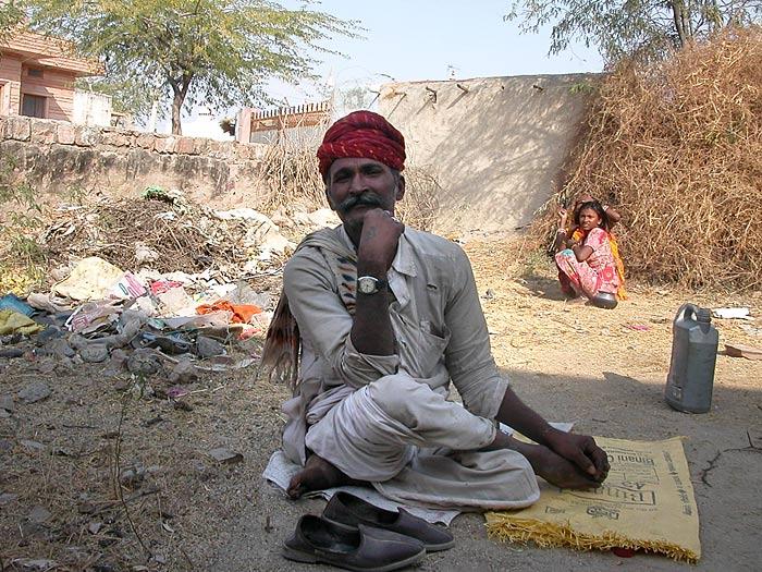 Portrait in Chandelao/Rajasthan