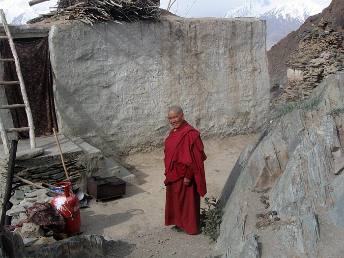 Nun in Zanskar