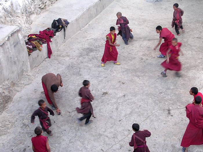 monks in Karsha