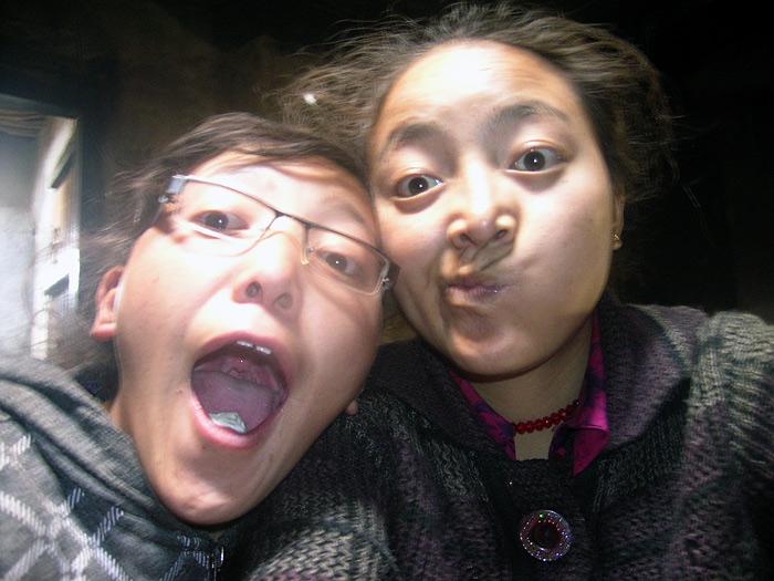girls in Zanskar