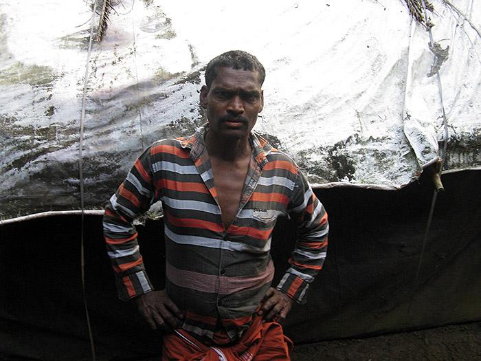 Man in Mothakkata/Kerala