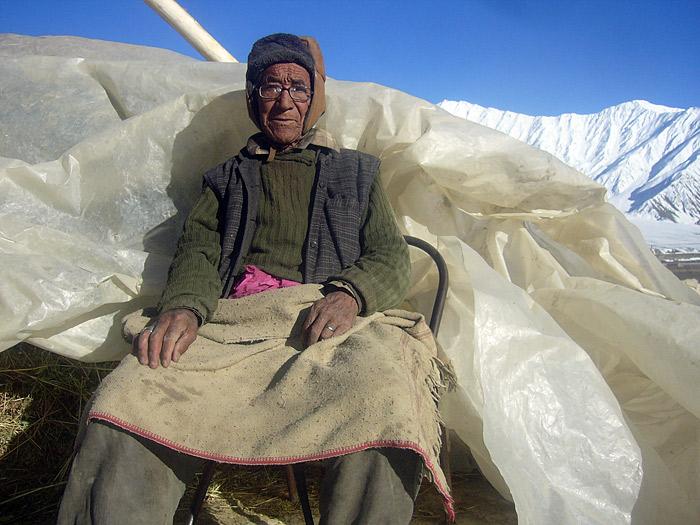 old man in Zanskar