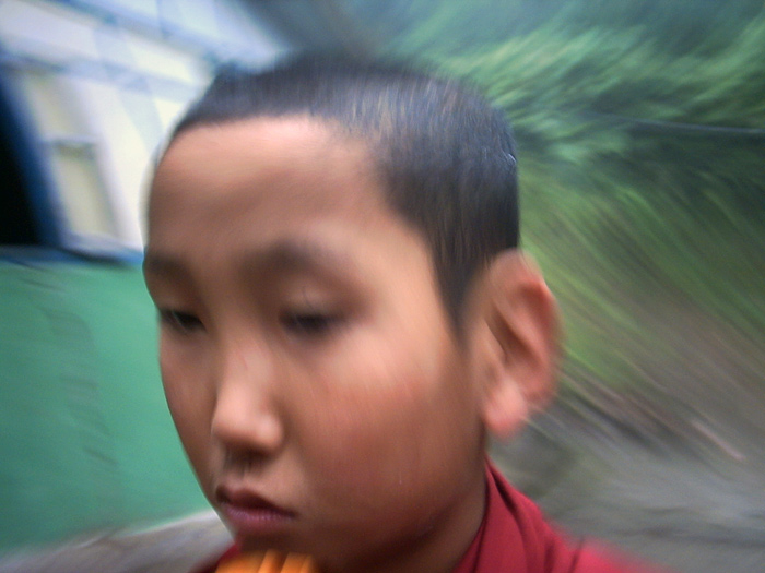 boymonk in Sikkim