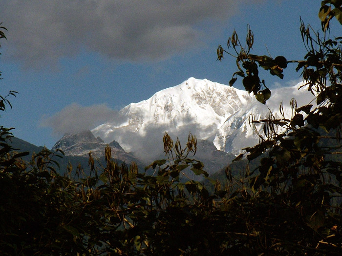 mt. Kabru in Sikkim