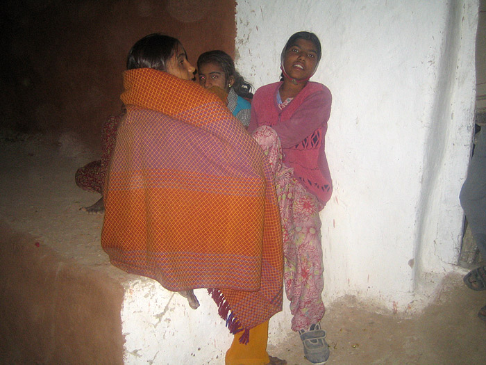 girls in Rajasthan