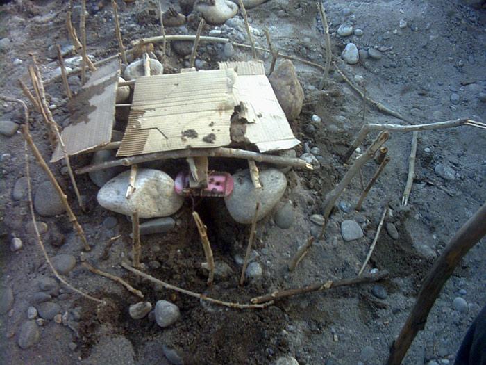 selfmade house in zanskar