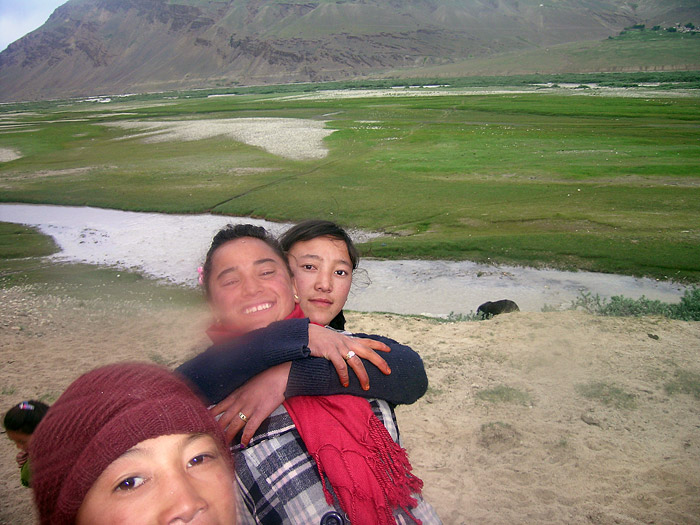 girls in Zanskar