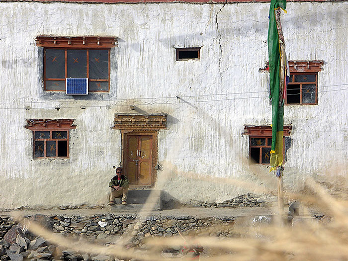 house in Zanskar