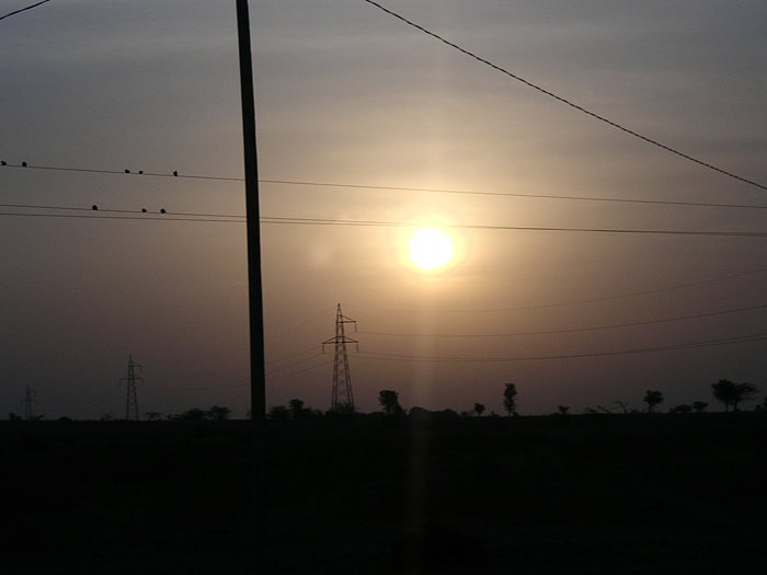 sunrise in Chandelao/Rajasthan