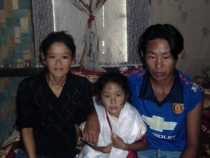 family in Sikkim