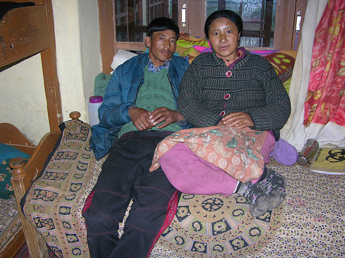 couple in Zanskar