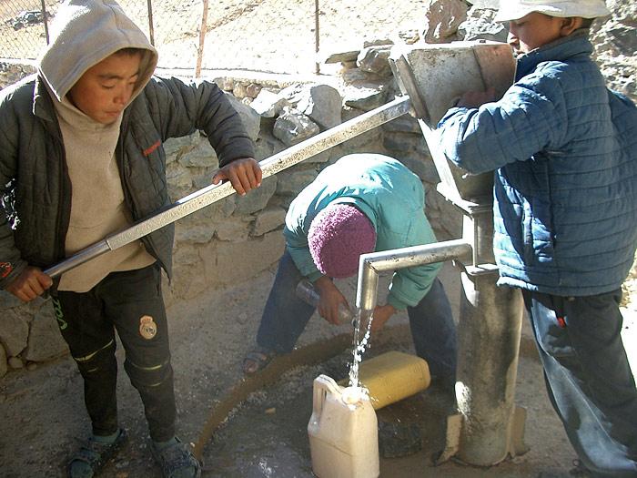 handpump in Zanskar