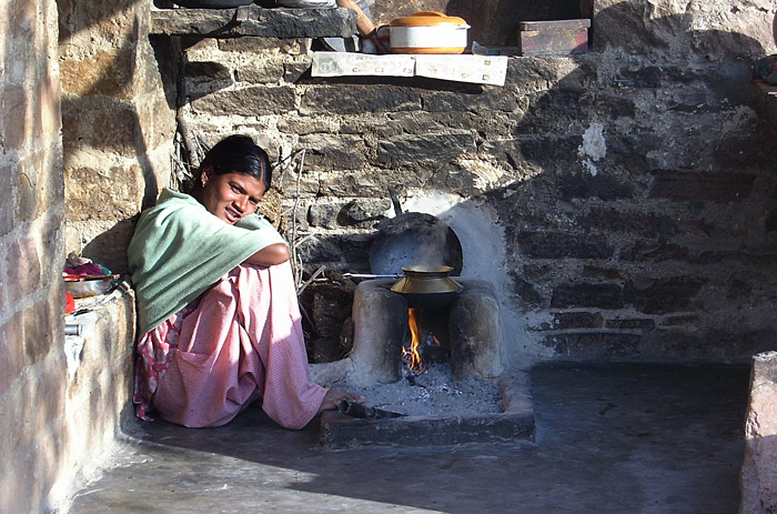 cooking in Rajasthan