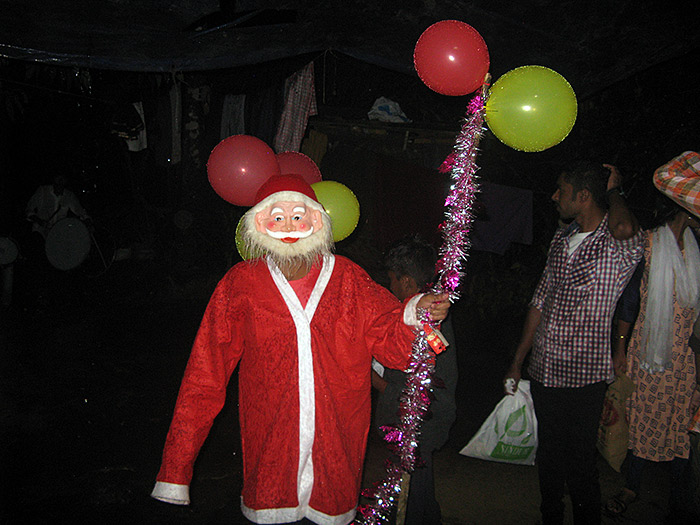 santa claus in Kerala