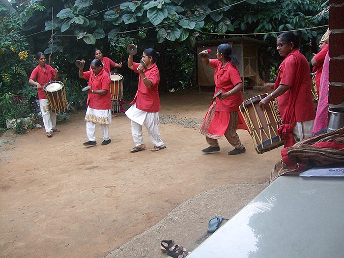 drummer ladies in Kerala