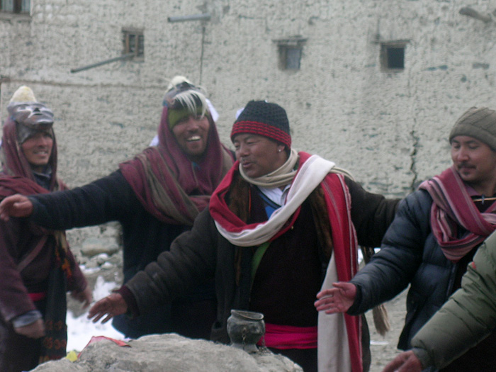 Losar Dance in Zanskar