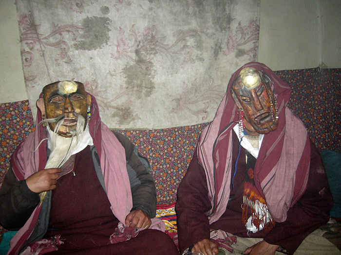 Gatmo + Gatpo zu Losar in Zanskar