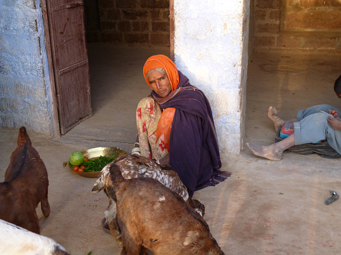woman in Rajasthan