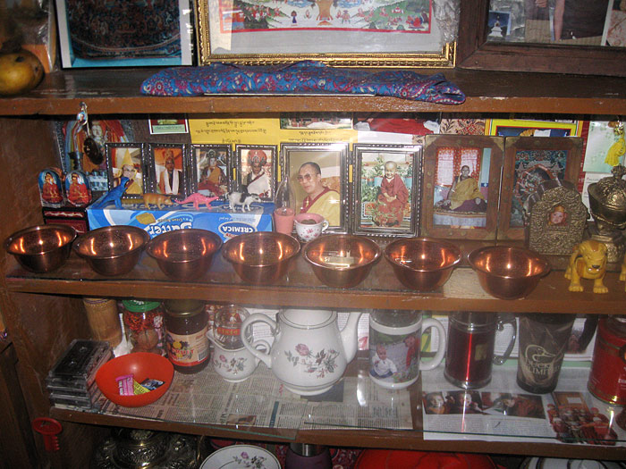 buddhist puja place in Zanskar