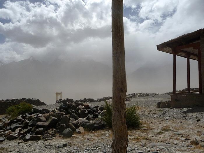 schoolyard in Karsha/Zanskar