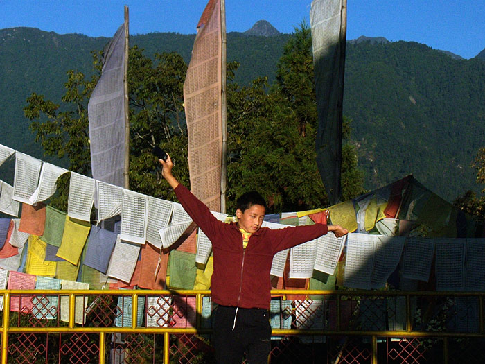 boy in Sikkim