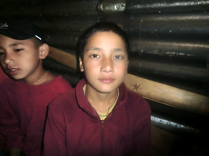 boy monk in Sikkim
