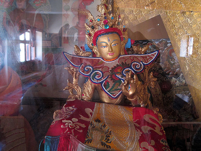 statue in Ladakh