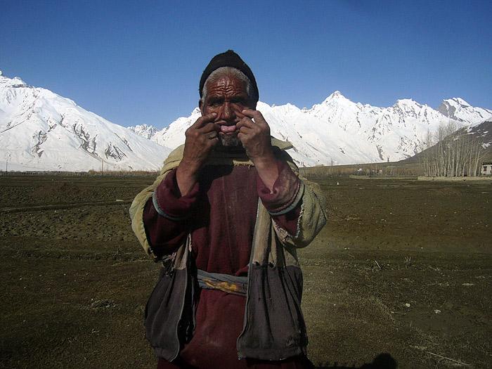 grandpa in Zanskar