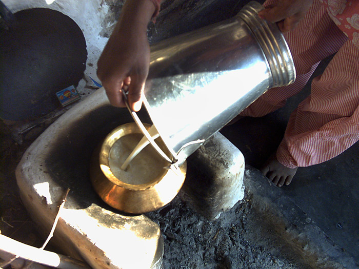 milk in Rajasthan
