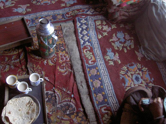 tea in Zanskar