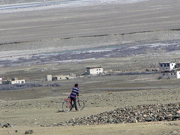 bicycle in Zanskar