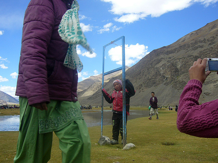 children in Zanskar
