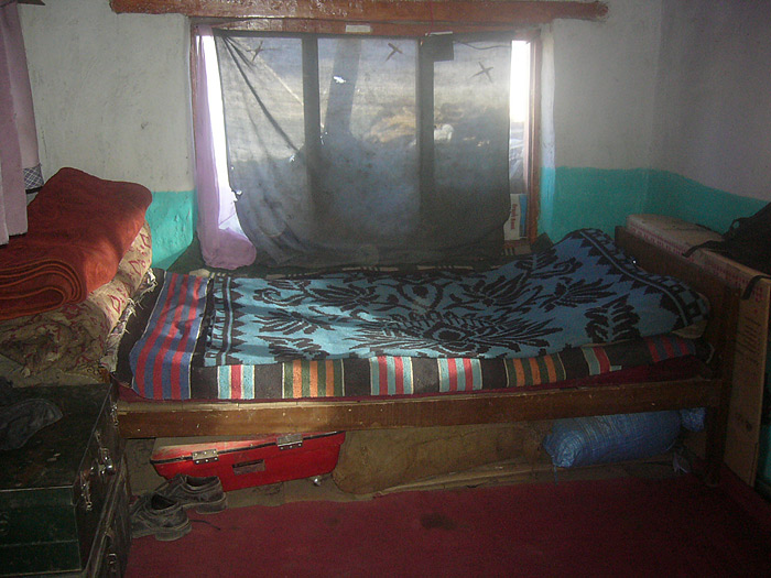 bed in Zanskar