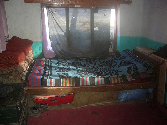 bed in Zanskar