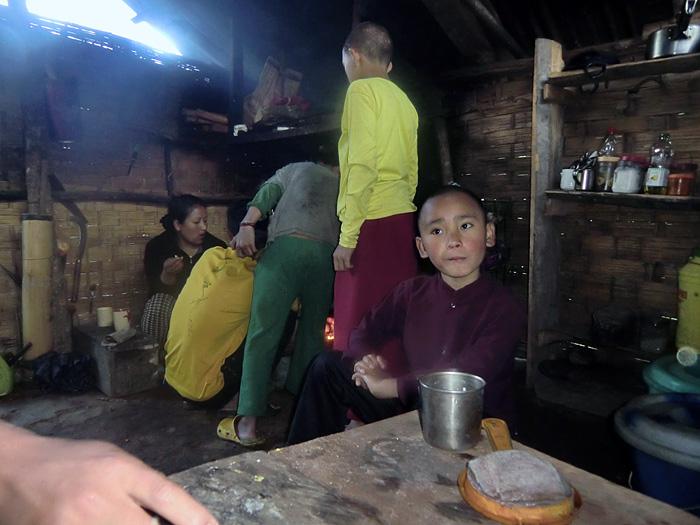 kitchen in Sikkim