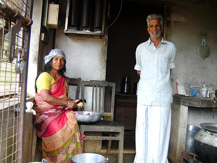 school-kitchen in Kerala