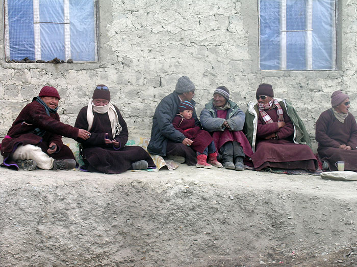 men in Zanskar